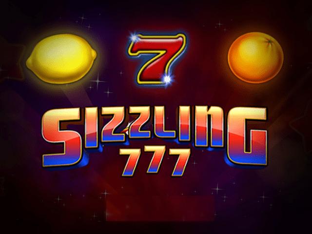 sizzling 777 slot za darmo